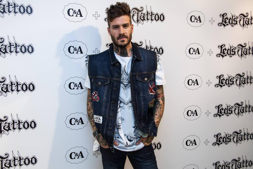 c&a e led's tattoo